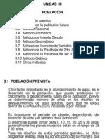 Unidad III -Población