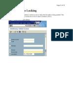 SAP DatabaseLocking(Scridb)