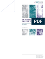 Distressed Debt Investor Strategies