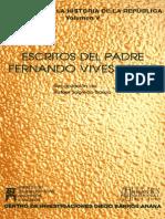 Escritos Del Padre Fernando Vives Solar