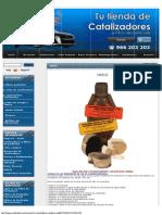 OBDII - Catalizadores y Filtros de Partículas