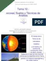 Tema 12.-Arcillas ,Suelos y Tecnicas de Analisis-2007-2008