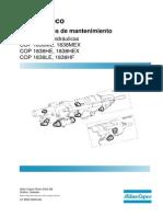 9852 0809 05L Maintenance Instructions COP 1838ME,HE,LE,MEX,HEX,HF