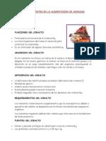 Micronutrientes en Animales