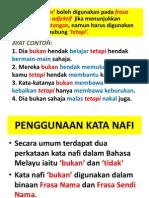 Kata Nafi Ppt