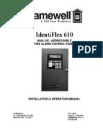 Gamewell Identiflex 610 Alarm System Manual