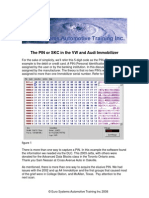 The PIN or SKC in the VW and Audi Immobilizer