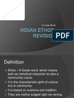 Indian Ethos- Revision
