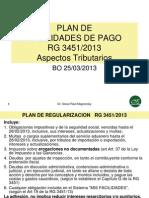 Plan Facilidades Pago RG3451-13 Material