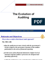 Evolution of Auditing