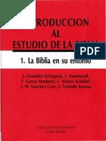 1 - Gonzalez, Echegray j. - La Biblia en Su Entorno