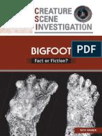 Bigfoot 'Fact or Fiction'