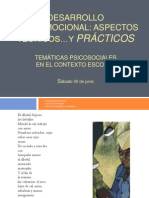 Desarrollo Socioemocional I
