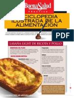 Buena Salud enciclopedia_Lasaña light de ricota