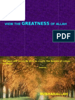Greatness of All Ah
