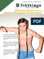 Tuxer Prattinge - Jubiläumsausgabe Herbst 2013