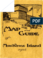 Map and Guide of Mackinac Island 1926