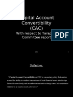 Capital Account Convertibility
