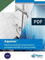 A4 Aquaroc Brosura