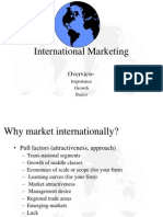 2. INTERNATIONAL Marketing Importance, Growth, Basics