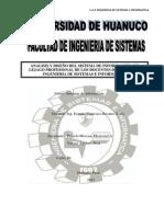 ANALISIS Y DISEÑO DEL SISTEMA DE INFORMACIÓN  DE LEJAGO PROFESIONAL DE LOS DOCENTES DE LA E