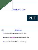 RDBMS Conceptss