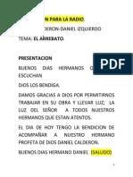 Dn y Diz - Predicacion Para La Radio Arrebato (Autoguardado) (01)