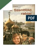 Harsányi Gábor-A Szentföld rabjai
