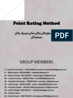 Point Rating Method