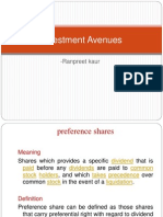 Investment Avenues
