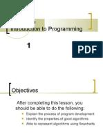 01 ES26 Lab - Intro to Programming