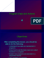 04 ES26 Lab - Program Data and Actions