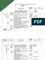 Planificareacalendaristic Iproiectareaunit Ilorde Nv Are