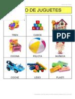 Bingo de Juguetes Con Imagenes