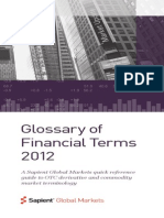 2012 Financial Terms Glossary
