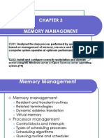 Chapter 3-Memory Management