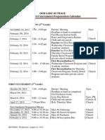 2013-2014SacramentPrepCalendar