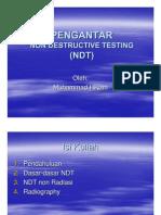 Pengantar NDT 2003