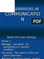 Lesson 3 the Barriers in Communication