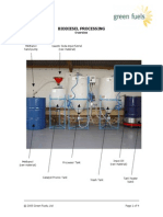 Biodiesel Processing