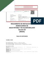Ridaa y Anexos - Decreto 50