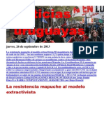 Noticias Uruguayas Jueves 26 de Setiembre Del 2013