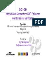 ISO 14064 pres