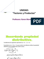 Factores y Productos