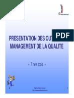 Presentation Des Outils Du Management de La Qualite
