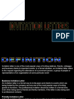 Report_ Invitation Letter