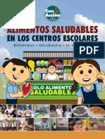 Investigacion Alimentos Saludables en Los Centros Escolares