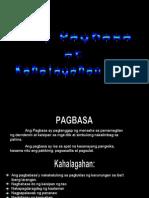 Report 1 - Ang Pagbasa at Kahalagahan Nito