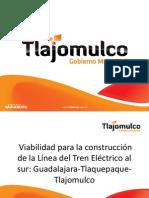 Viabilidad para la construcción de la Línea del Tren Eléctrico al sur