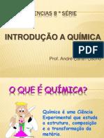 INTRODUÇÃO QUÍMICA (ANDRÉ) I